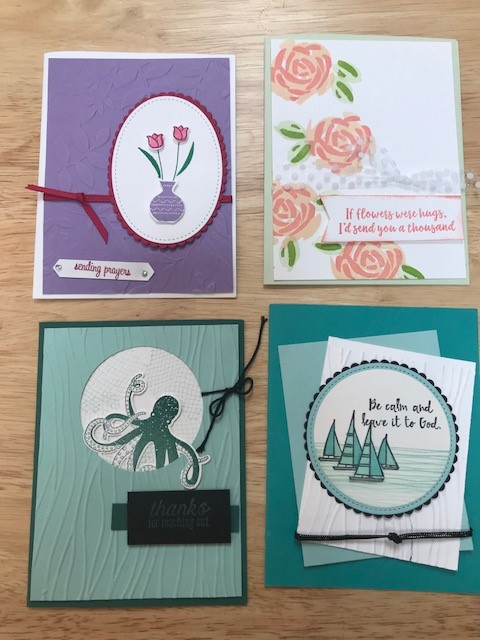 Just cards June 2108